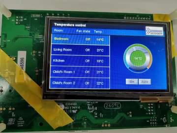 基于 NXP i.MX RT1050 高分辨率触摸屏方案,让传统家电更智能