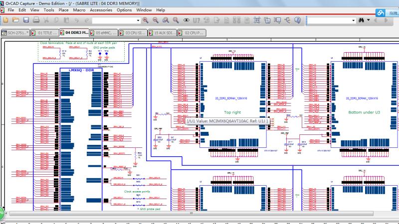 飛思卡爾CORTEX-A9四核 IMX6Q 原廠開發板candence硬件原理圖+PCB+iomux_too+mfgtools+DDR3測試l工具