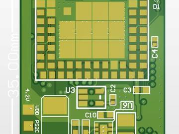 SIM800 GPRS通讯 四层板 Altium设计文件