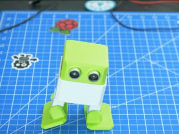 Arduino跳舞机器人(奥托)组装,编程和校准