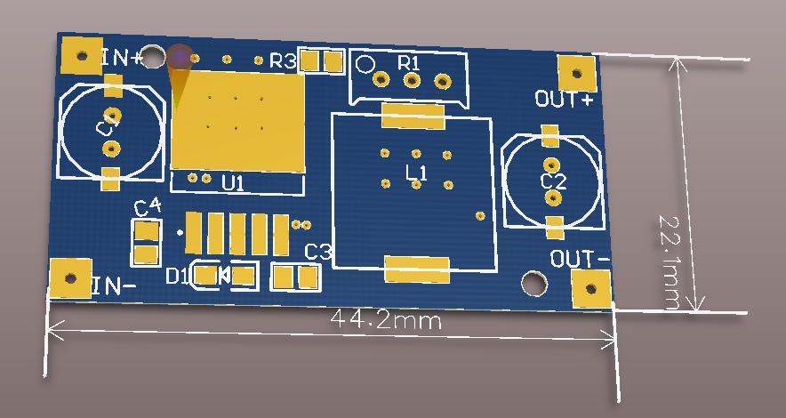 基于LM2596Sbeplay下载app下载的 DC-DC降压电源模块电路设计方案(pcb+原理图 )