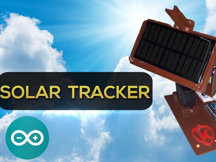 Arduino項目,DIY太陽能跟蹤器