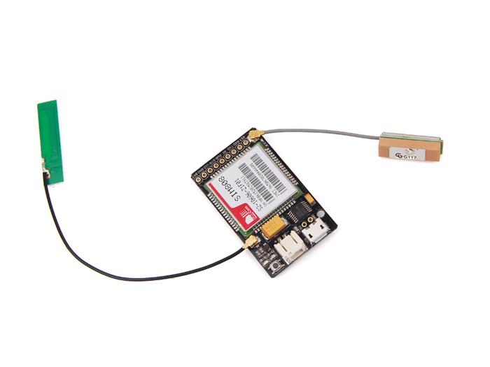 SIM800 迷你GSM/GPRS+GPS定位资料开源