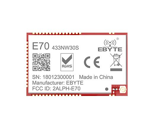 星型組網模塊E70-433NW30S資料包,適用于多種無線通訊組網場景