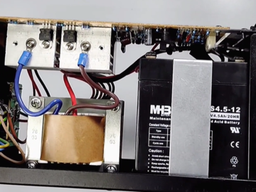 拆解UPS不间断电源:电路结构精简,适用范围广阔