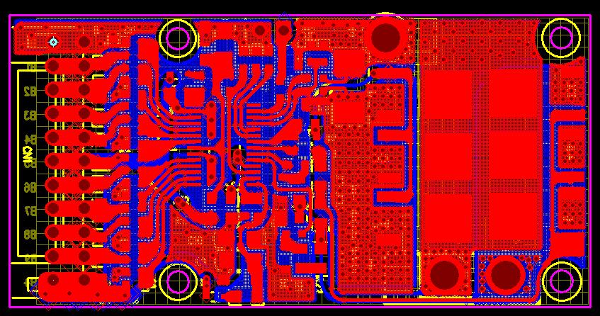 中穎方案7S/10S很成熟的鋰電池保護板,已經量走10W的數量