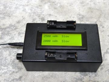 基于Arduino的NiMh电池的自动充电器
