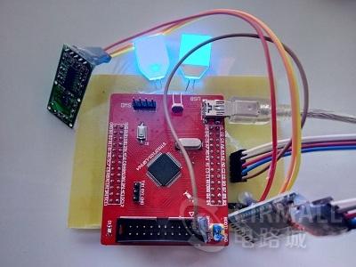stm32人体感应灯设计制作完整资料