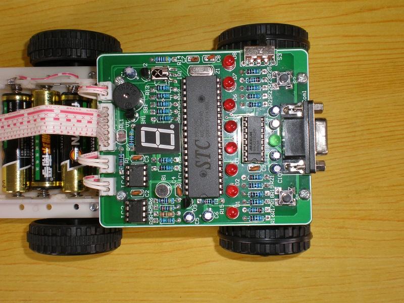 红外检测智能循迹小车资料