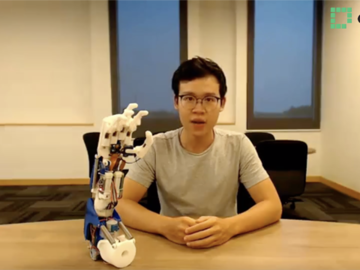 基于樹莓派和Arduino高性能假肢電路方案設計