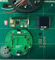基于树莓派的 LED 数字温度计(电路图+3D文件+代码+完整教程)