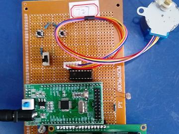 基于STM32单片机的智能窗户衣架窗帘升降设计-ULN2003-(电路图+程序源码+论文)