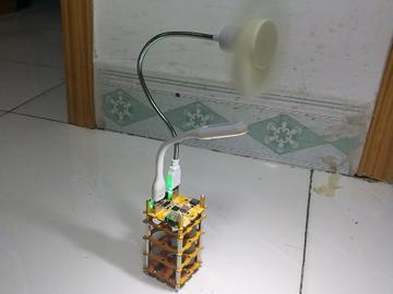 【北极星】基于IP5358与IP6351的充电宝风扇台灯三合一电源