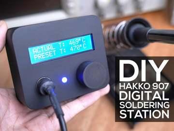 DIY数字焊台