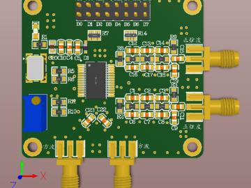 AD9850DDS函数信号发生器