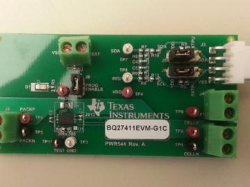 基于bq27411-G1的智能手机电池组端电量监测计电路设计