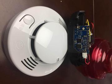 基于Semtech SX1276及SX1301之LoRa 无线烟雾报警器