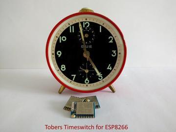 基于ESP8266的Tobers时间开关