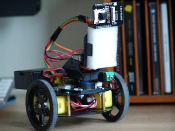 大神教你制作您自己的视频监控机器人