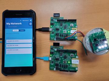 基于On Semiconductor NCH-RSL10的蓝芽5.0 MESH灯控方案
