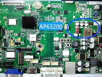 基于DIODES AP63200 Low EMI 24V DC转换之医疗显示器电源方案