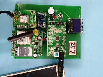 基于STM32单片机的急救电子信息终端设计-ADXL345-GPS-GSM-(电路图+程序源码)