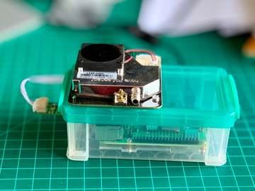 基于树莓派 4 的低成本物联网空气质量监测器