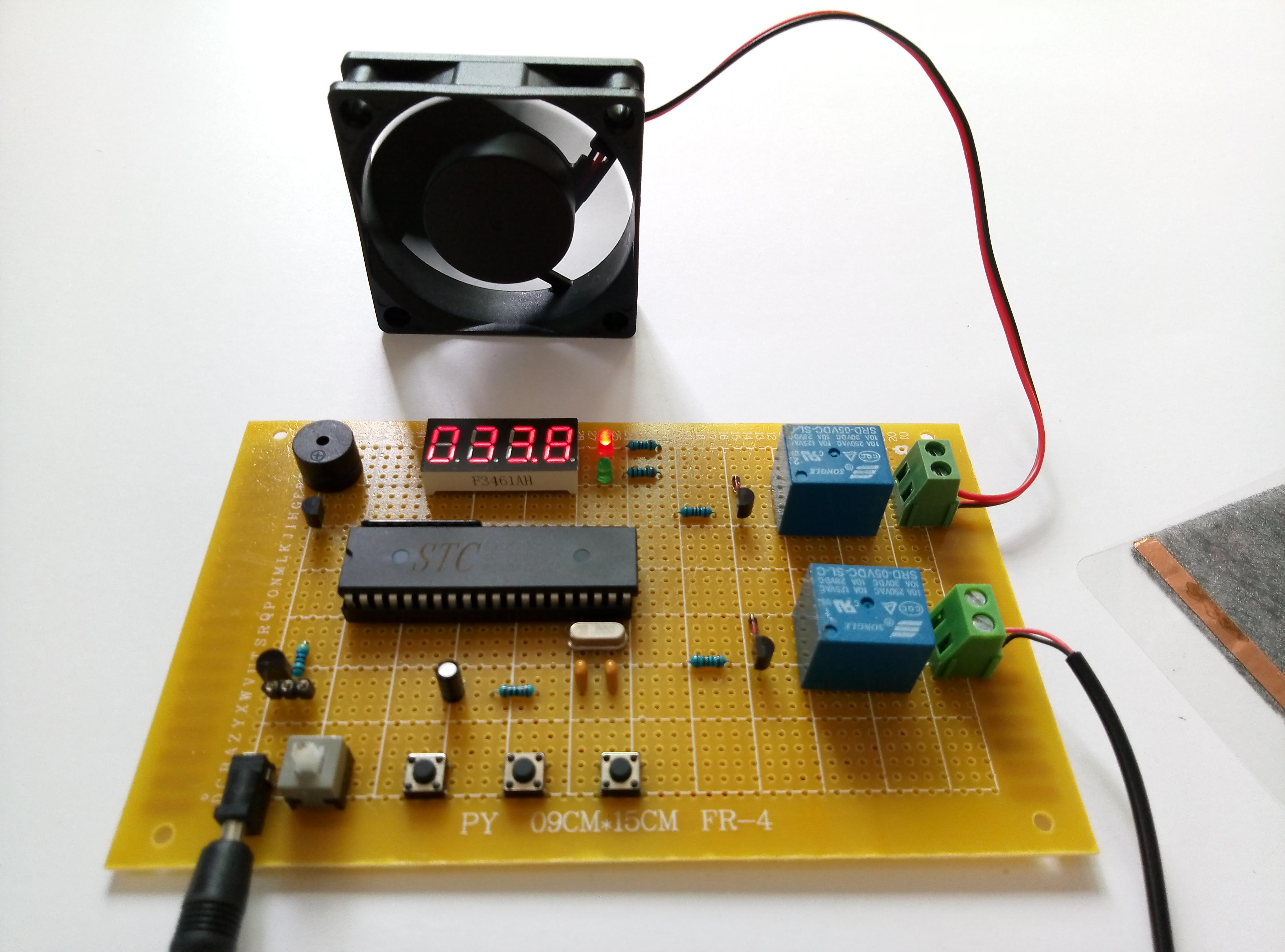 51單片機的溫度控制系統