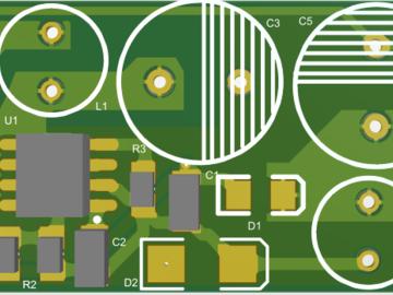 220V-5V非隔离物联网电源(XH308h)电路方案设计(pcb)