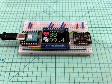 基于Arduino的血氧心率计