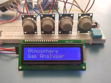 基于Arduino的气体分析仪