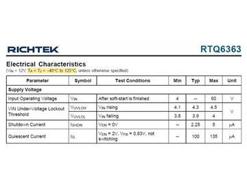 工商业和汽车应用全覆盖的 60V/0.5A~5A 高压 Buck 转换器系列