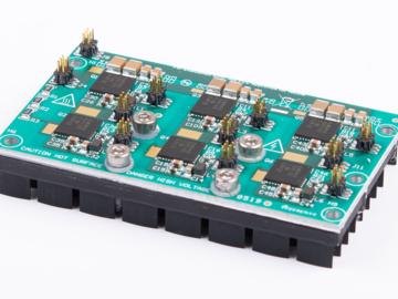 适用于集成型驱动器的三相、1.25kW、200VAC 的小型 GaN 转换器电路设计