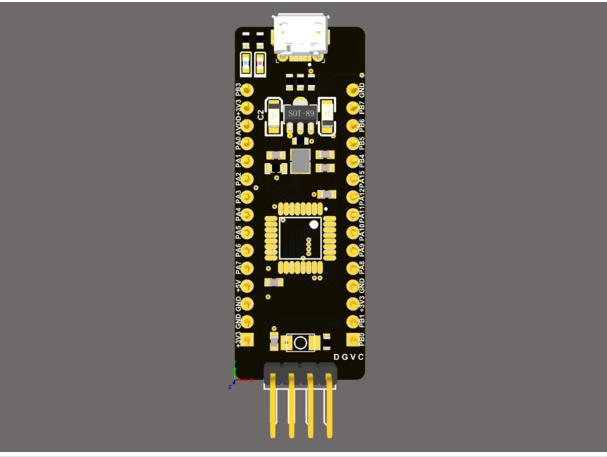 STM32 最小系统板 STM32F042K6T6 LQFP32封装通用