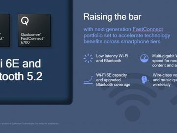 高通宣布FastConnect 6700和6900连接系统 整合Wi-Fi 6E和蓝牙5.2