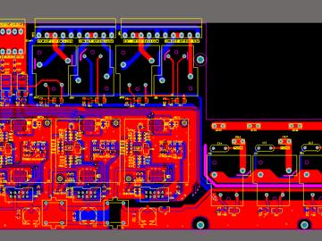 4通道 网络监控报警系统方案设计(原理图+pcb)