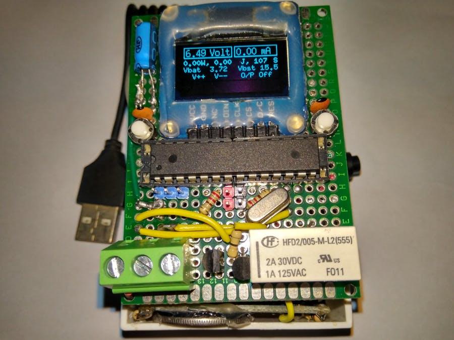 带OLED显示屏的可编程袖珍电源