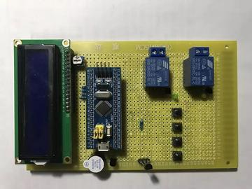 【毕设作品】基于STM32的温度检测控制系统完整资料