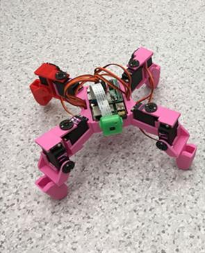 樹莓派四足機器人