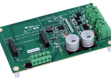 基于DRV8353RH的三相智能栅极驱动器评估模块电路设计