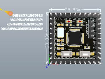 Stm32F103/030超小核心板方案