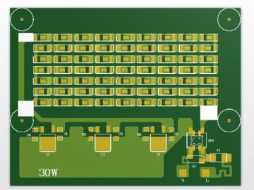 220V-30W-投光灯 量产方案