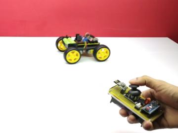 教程:如何在家DIY Arduino游戏杆控制车