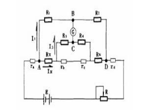 常见四臂直流电桥实例分析,解析工作原理