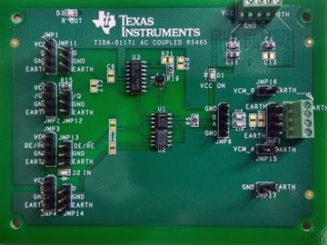 基于SN65HVD3088E的交流耦合RS-485电路设计