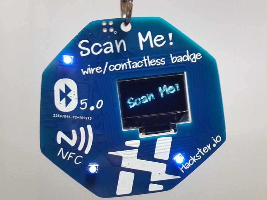 基于nRF52832的低功耗線/非接觸式徽章