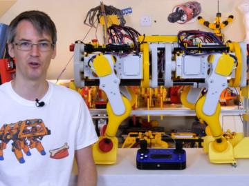 机器狗 V2第6部分-IT漫步和运动学模型