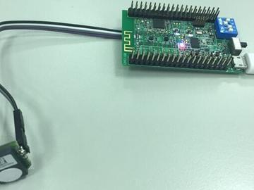 基于Toshiba TMP89FM45QUG +AMS iAQ-Core的空气质量监控传感器