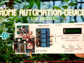 基于GSM的家庭自动化设备