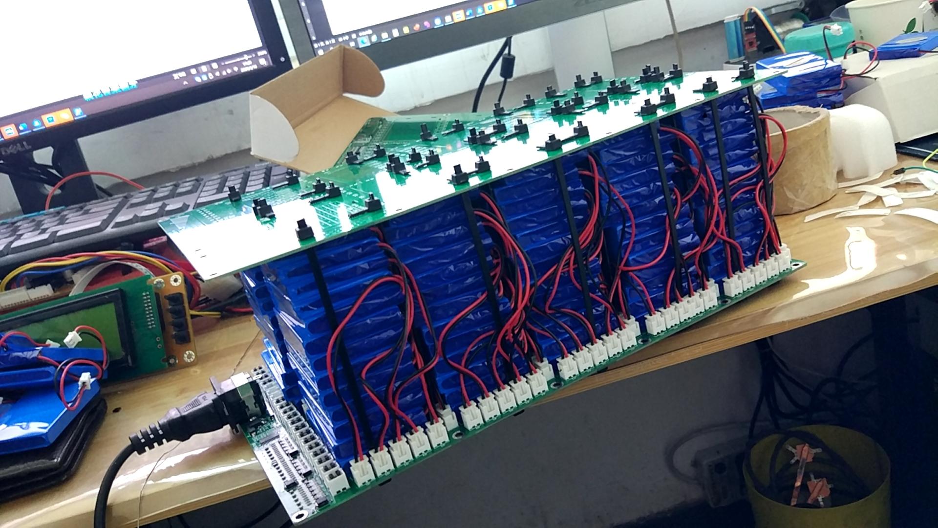 帶均衡功能的13-15串電動車電池設計方案方案